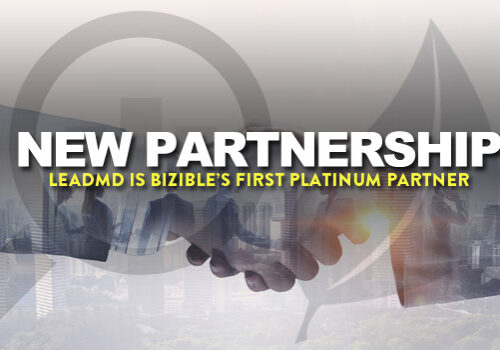 LeadMD is Bizible's first platinum partner